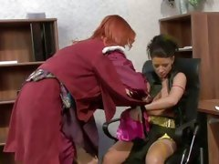 Tarra White and her lesbian business partner get nasty
