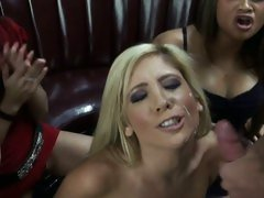 Tasha Reign cum shower after a wild bar party