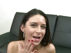Nikki Daniels filled with cum on her pretty face