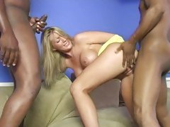 Barbie Cummings black dick hard fuck and sucking