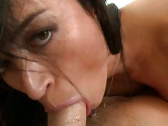 Francesca Jaimes horny milf do deep throat sucking