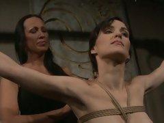 Mandy Bright hot slut tie a hot babe naked body
