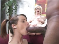 Tweety Valentine hot brunette watch by her mom sucking