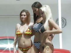 Angel Dark, Sara Stone and Breanne Benson hottie babes