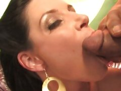 India Summers shoot a load of warm cum in her mouth