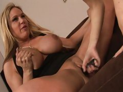 Haley Cummings and Tyler Faith dildoing hard