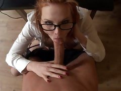 Tarra White like to blow out a hard long cock