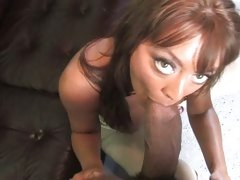 Francesca Sin lusty milf do a hard mouth job