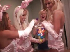Ex Girlfriend hot babes in bunny clothes get wild