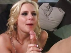 Phoenix Marie spunk in the mouth with cumshot