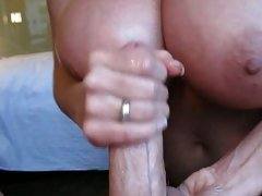 Whore Kelly Madison tosses off this hard rod