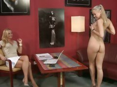 Sylvia Saint hot babe get naked in the audition