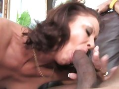 Vanessa Videl lusty mom sucking a huge black dick