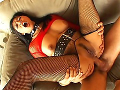 She wants to eat her Asian ass creampie
