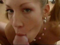 Little sister sucking dick