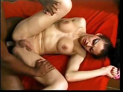 Shemale milking black dick