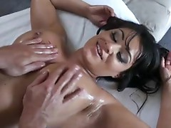 Charley Chase gets her Massive juggs and teats massaged