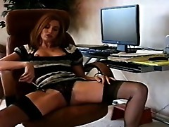 Big-boobed playgirl
