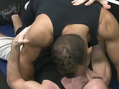 Sean and Tristan workout bang