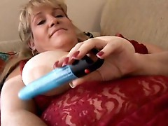 Blonde fat women with big pussy