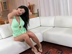 Sexy Aletta Ocean masturbating
