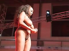 Porno onto stage hard action sex