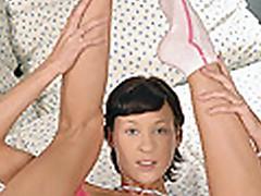 babe Alex sucking feet