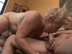 Bbw granny having her coochie banged with aged love stick