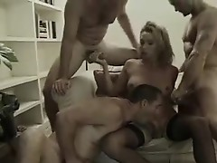 Wonderful looking trassexual gets pounded by 3 Horny boys