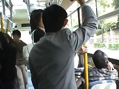 Asian lady is tall and has public porn