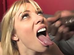 Adrianna Nicole got her Mouth Cream filled