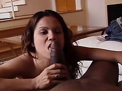Priceless natural tits lass is tthis guyre to give some great blowjob!