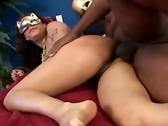 Jazmine CAshmere is working that guyr Messy Mouth on a furious Darksome Meatshaft