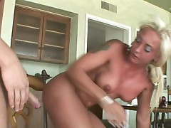 Big tit blonde Serena Marcus Teach the man how to pound hot