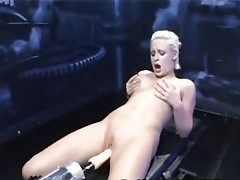 Round tight booty banged surrounding a oustanding machine penis