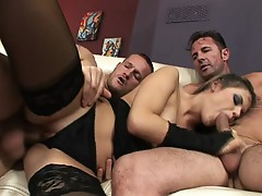 It takes 2 girls to please this very Horny guy