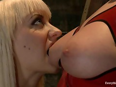 Big ass ladies Aurora Snow and Cherry Torn go mad about anal domination