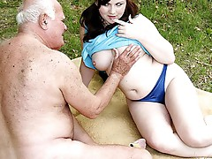 Grandpa likes girls