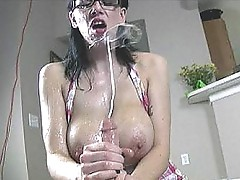 Large Boobs Blasted Alia Janine