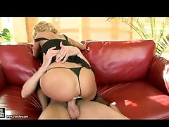 Nikky Thorne has her muff group-fucked by a ram rod involving a Toy stuffed in her tight ass