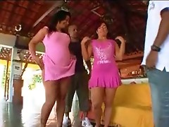 Monica and Jenny incredible sex