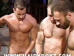 Cole Streets, Steve cruz, Wilfred Knight group-sex