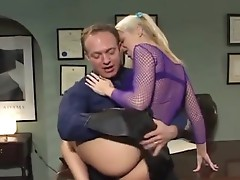 Blonde pierced girl has fucked