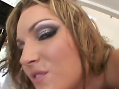 Lusty Babe Flower Tucci gets her red hot Mouth attacked by the Massive errect stick