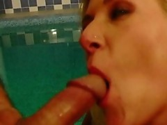 Nympho girl is able to not have enough of two cocks to put inside her ass!