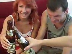 College Foursome Party inside Full Play