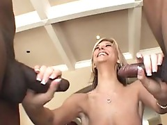 Hottie wild Brooke biggs fills that guyr Mouth one Rod at a time until sthat guy chokes