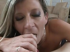 Lucky dude acquires to stick his phallus between Sara Jay's juggs.