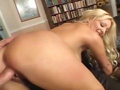 Naked female playing together with her feet