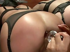 Bubble humps slaves Angell Summers and Kirsten Price